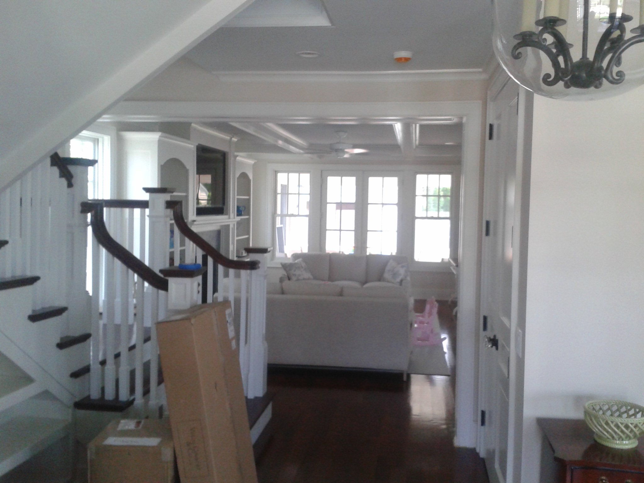 Interior walls and railings painted by Local Painting Contractor